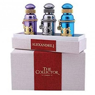 Alexandre J. The Collector Iris Violet + argentic + mandarine Sultane